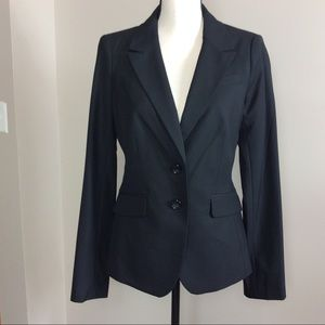 The Limited Black Collection Two Button Blazer 8